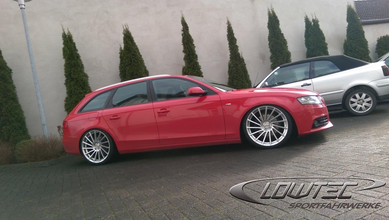 Audi A4 Galerie Sj Lowtec Gmbh